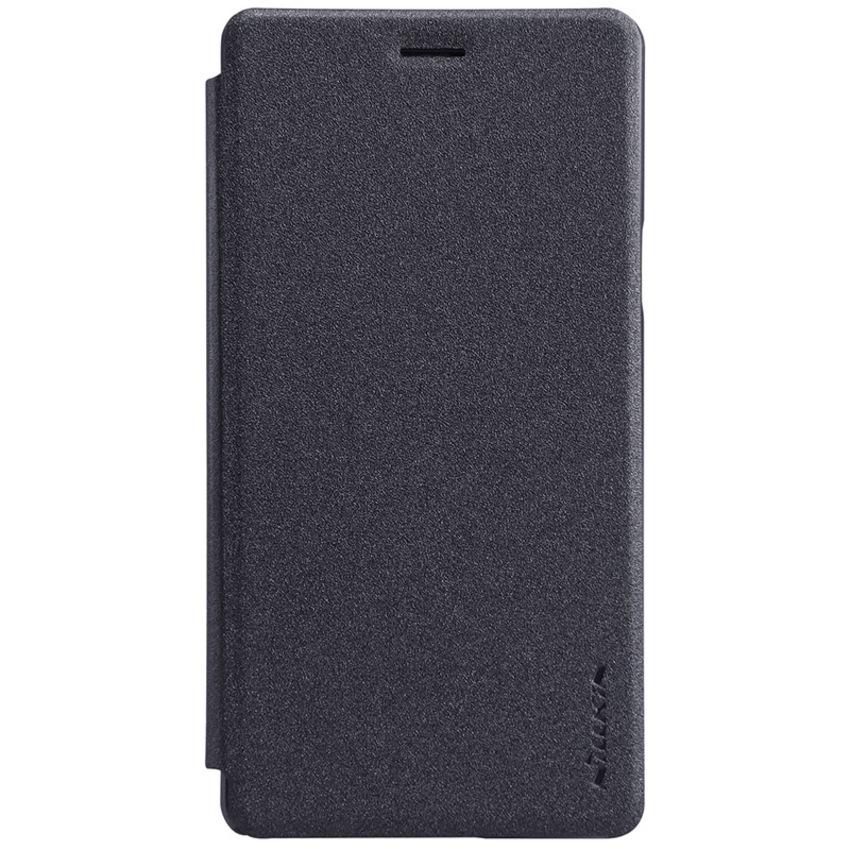 nillkinแท้ เคสฝาพับ OPPO Mirror 5 รุ่น Sparkle Leather Case สีดำ