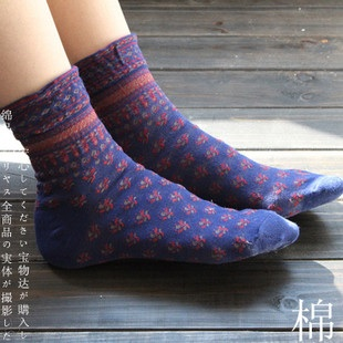 S245**พร้อมส่ง** (ปลีก+ส่ง) ถุงเท้าแฟชั่น สไตล์ ญี่ปุ่น ข้อยาว คละ 5 สี มี 12 คู่ต่อแพ็ค เนื้อดี งานนำเข้า(Made in China)