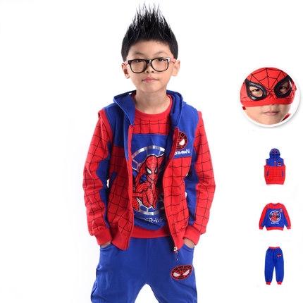 ชุด Spiderman สำหรับเด็ก (มีให้เลือก 4 แบบ)