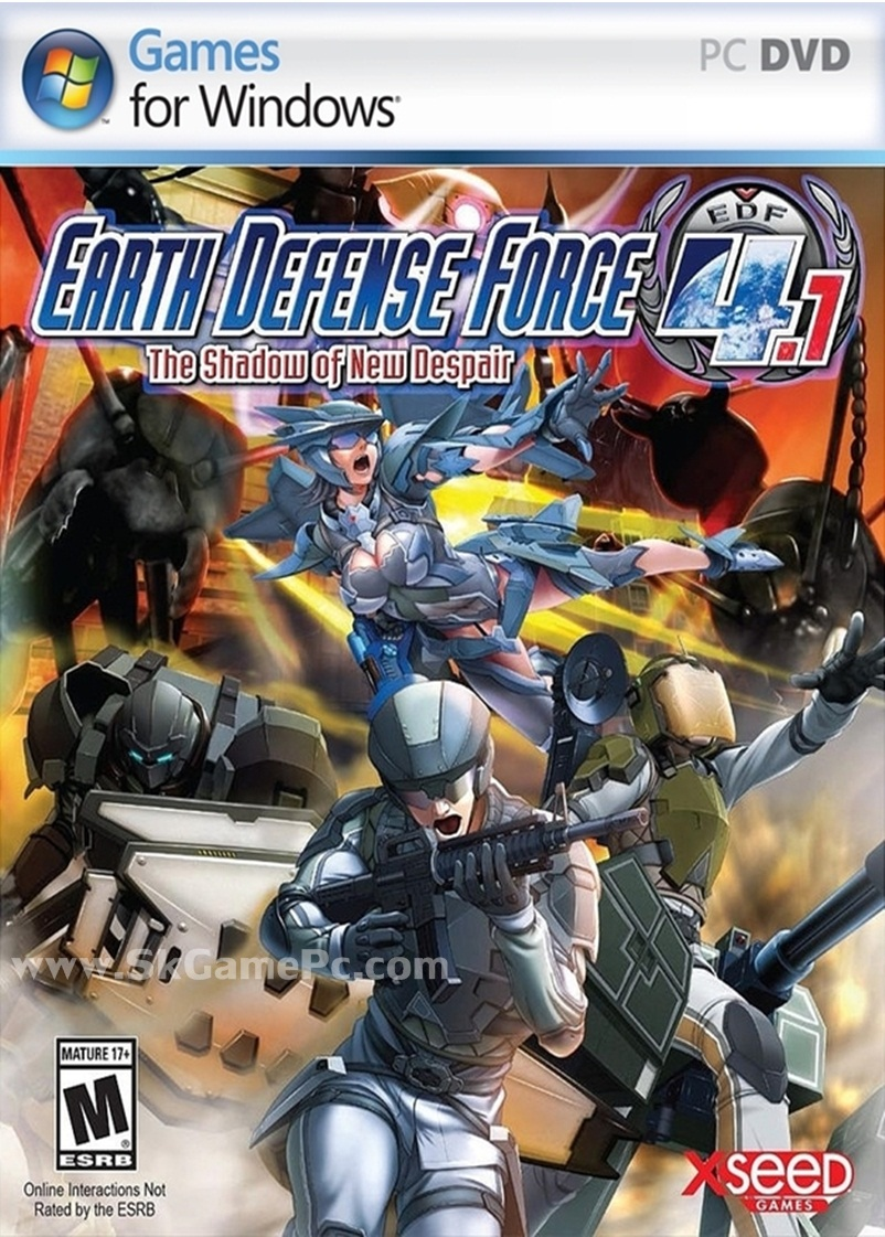 Earth Defense Force 4.1 The Shadow of New Despair ( 2 DVD )
