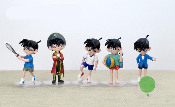 โมเดลโคนัน Detective Conan 5 ตัว/ชุด(ชุดที่ 1)