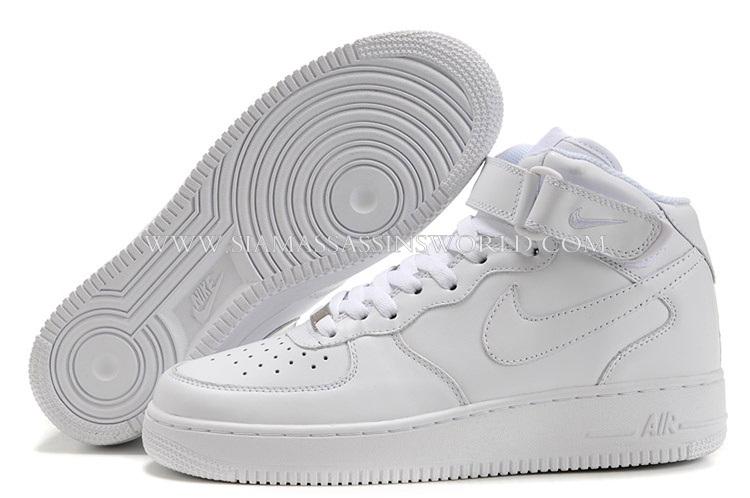 Nike Air Force 1 07 Chaussures De Femmes Prix Des Téléphones Blancs.