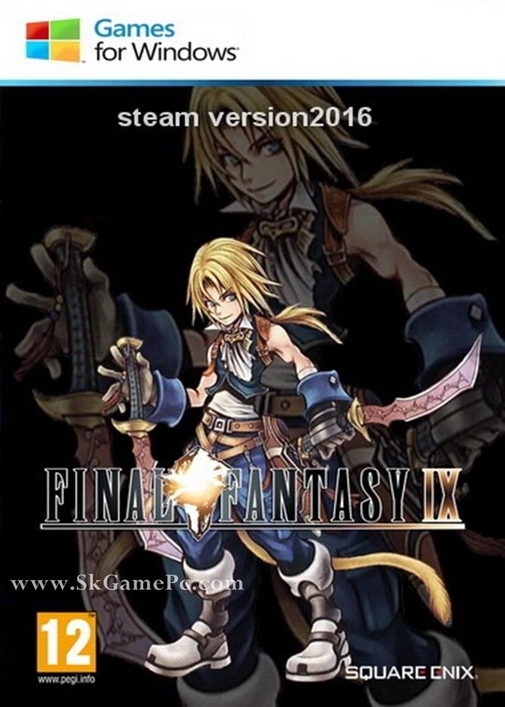 Final Fantasy 9(Steam version 2016) ( 1 DVD )