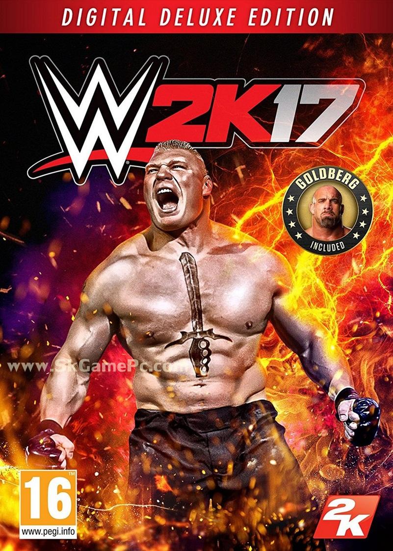 WWE 2K17 ( 11 DVD )