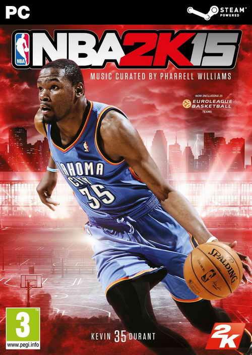 NBA 2K15 ( 11 DVD )