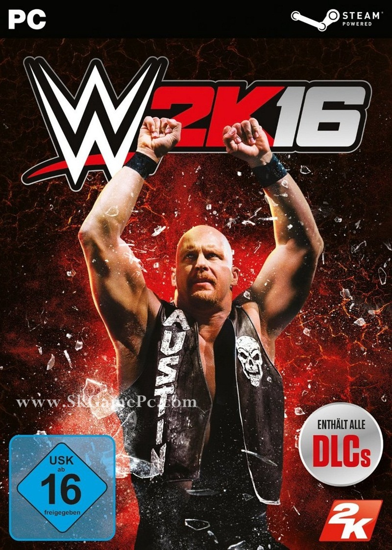 WWE 2K16 ( 10 DVD )
