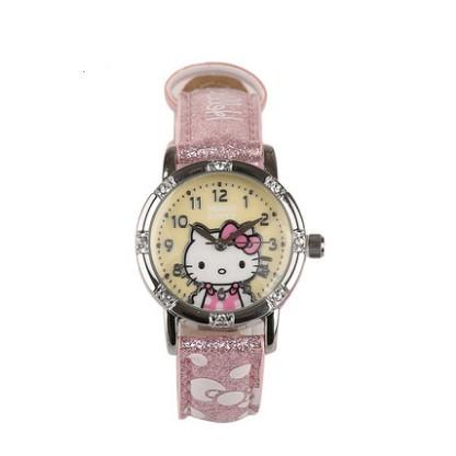 นาฬิกา Hello Kitty (สีเหลือง) (ของแท้ลิขสิทธิ์)