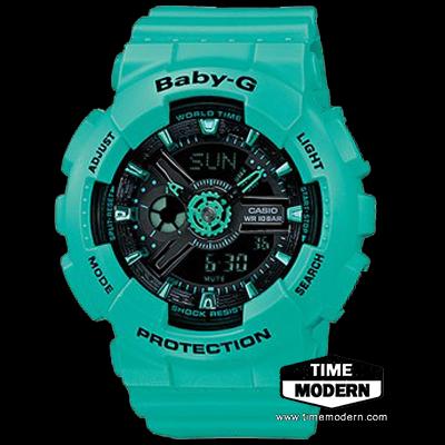 นาฬิกา Casio Baby-G standard Ana-Digi รุ่น BA-111-3ADR
