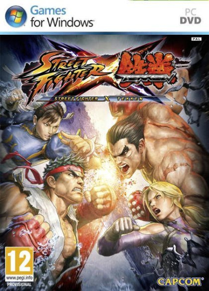 Street Fighter X Tekken ( 2 DVD )