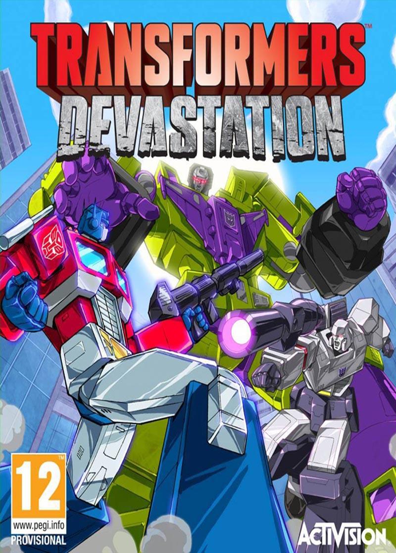 Transformers Devastation ( 2 DVD )