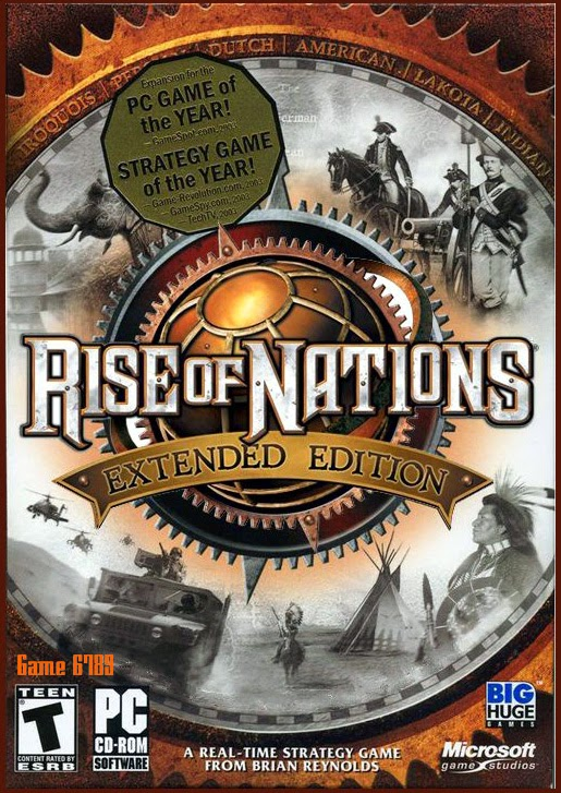 Rise of Nations: Extended Edition ( 1 DVD )