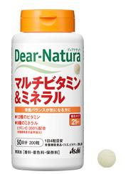 Asahi Dear Natura Multivitamin & Mineral