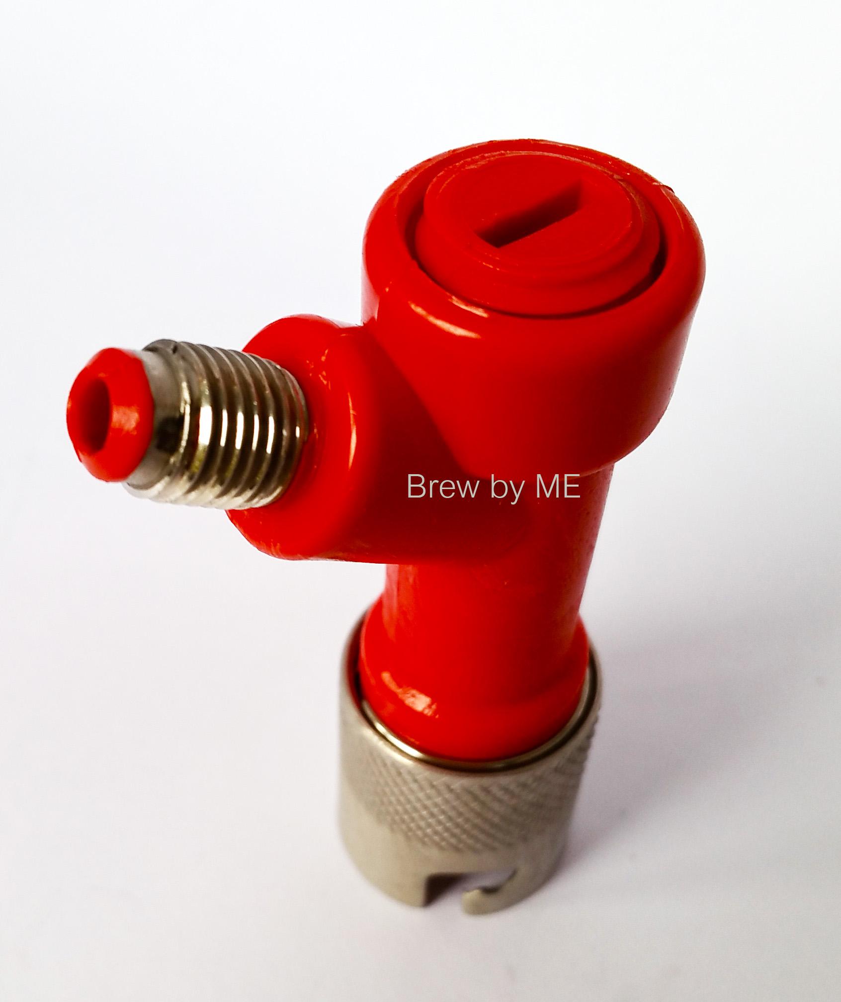 Pin Lock Keg Disconnector- 1/4 barb Liquid Side