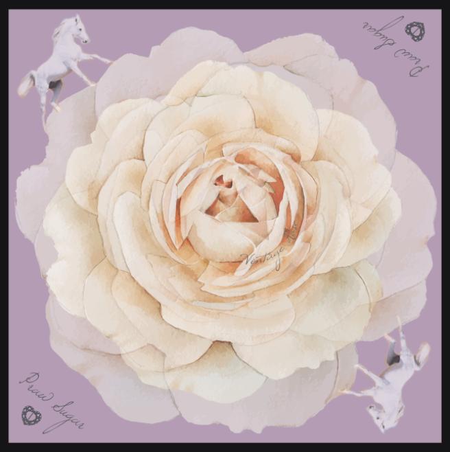 Vintage Rose - Violet