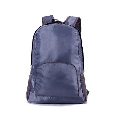 (สีดำ) กระเป๋าสะพายกันน้ำพกพาพับเก็บได้ ขนาด 44 x 28 CM