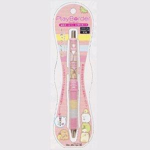 ปากกาหมึกดำ Dr.Grip (Sumikko Gurashi สีชมพู)