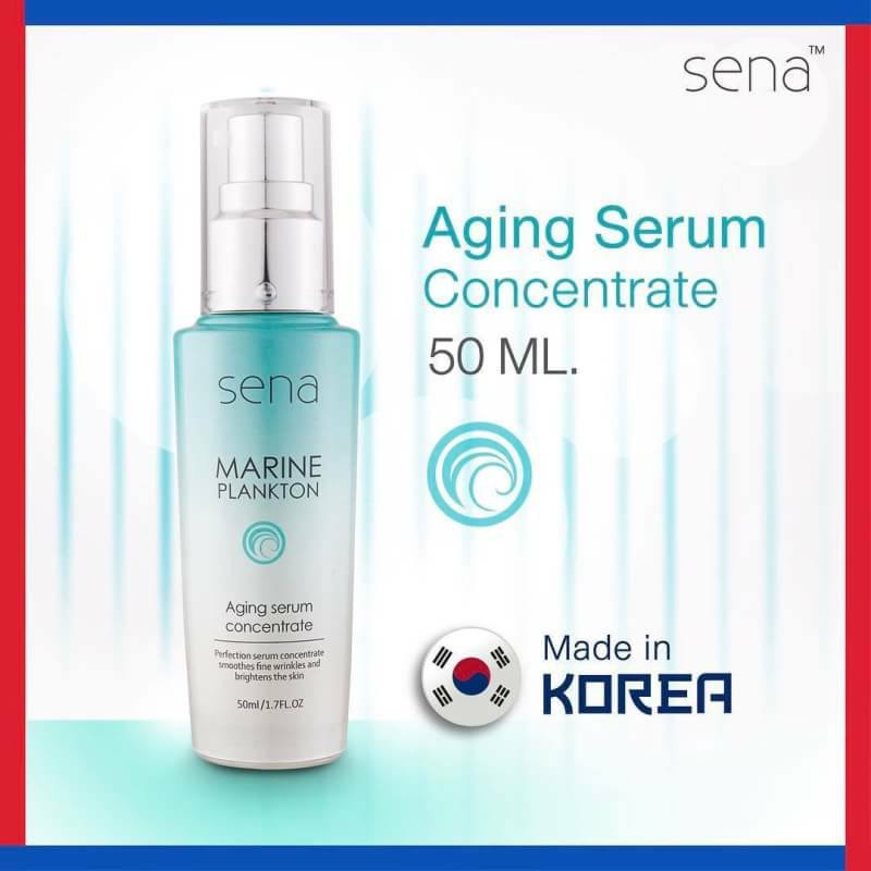 Sena Marine Plankton Aging Serum Concentrate 50 ml.