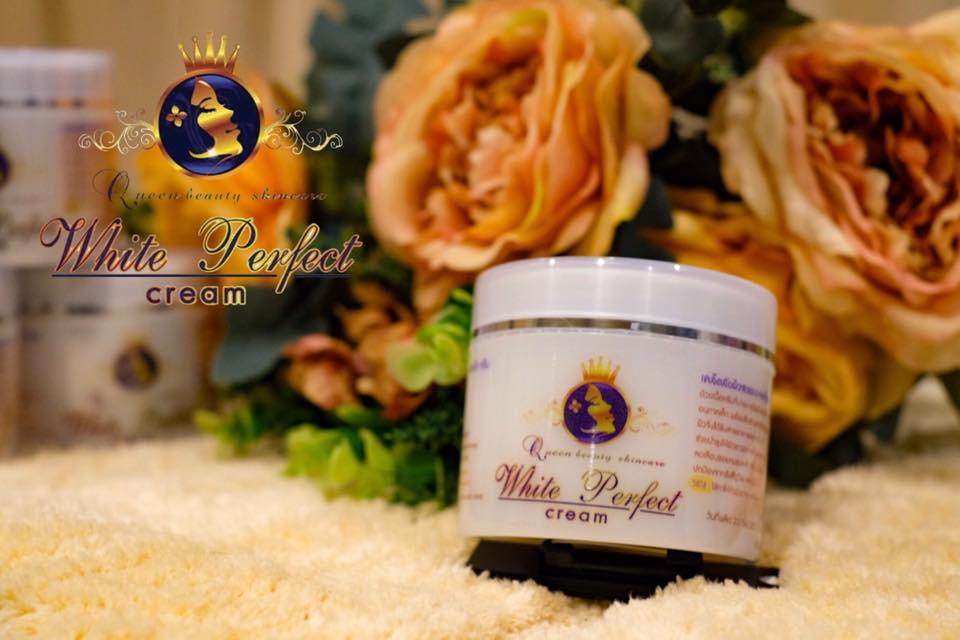 White Perfect Cream 100 g. โสมควีนไวท์
