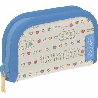 กระเป๋าใส่เหรียญ Sumikko Gurashi สีขาว-ฟ้า