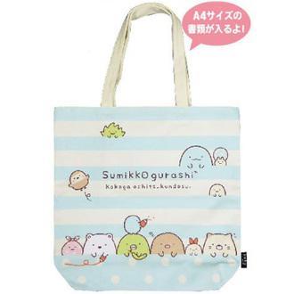 กระเป๋าสะพายไหล่ Sumikko Gurashi ฟ้าขาว