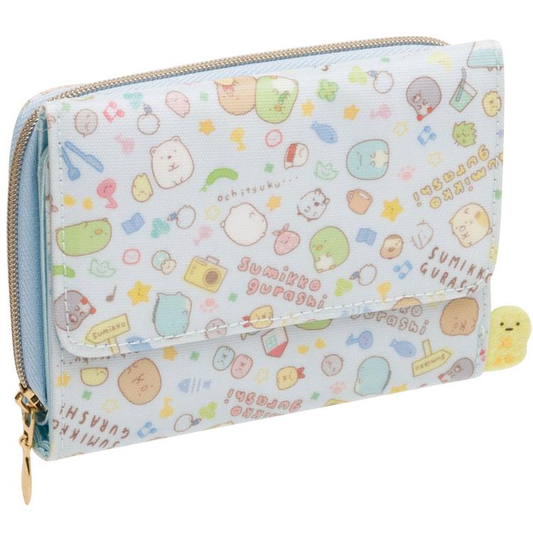 กระเป๋าสตางค์ Sumikko Gurashi สีฟ้า