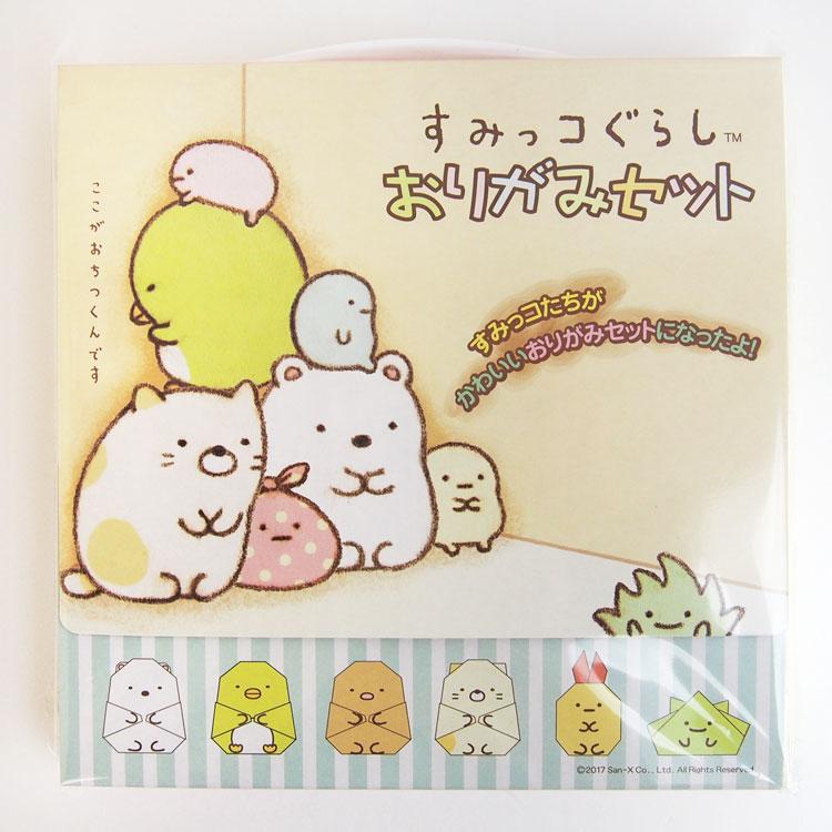 กระดาษโอริกามิ Sumikko Gurashi