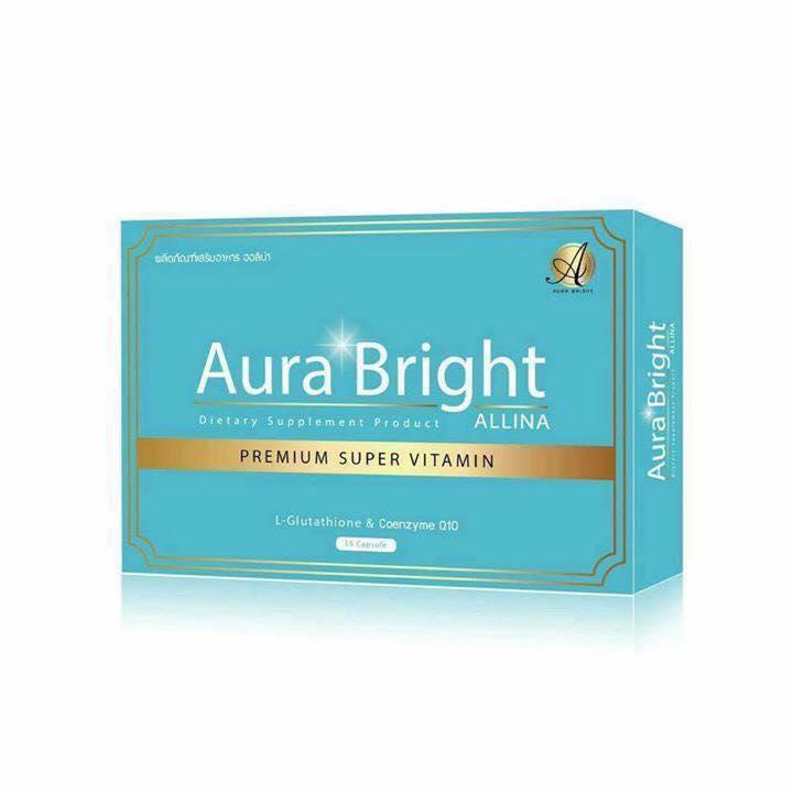 Aura Bright Super Vitamin วิตามินเร่งผิวขาว