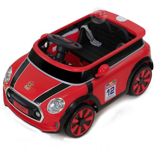รถแบต LN-D03 มินิคูเปอร์ สีแดง ฟรีค่าจัดส่ง