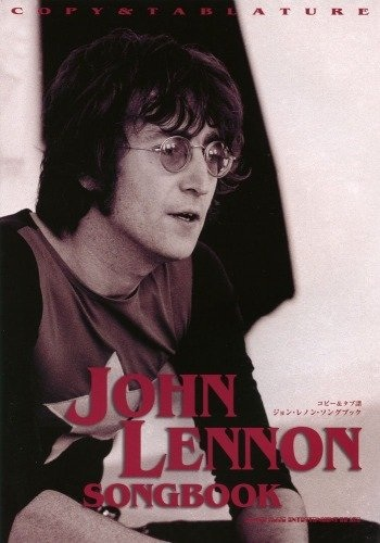 หนังสือโน้ตกีต้าร์ John Lennon Songs Book For Guitar And Vocal with Copy/Tab